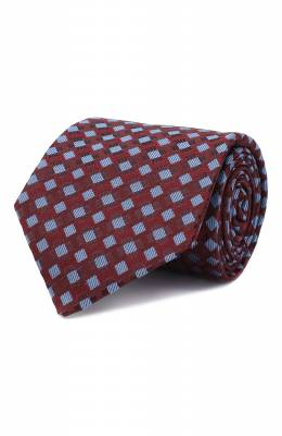 Шелковый галстук Luigi Borrelli LC80-B/TT30284