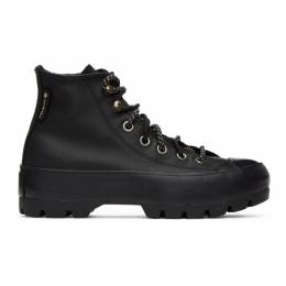 Converse Black All Star Lugged Winter Gore-Tex® High Sneakers 566155C