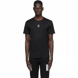 Dolce&Gabbana Black Heart Crown T-Shirt G8KBAZ G7XAO