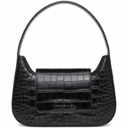 Simon Miller Black Croc Retro Bag S834-9026