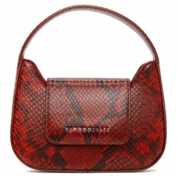 Simon Miller Red Snake Mini Retro Bag S835-9031