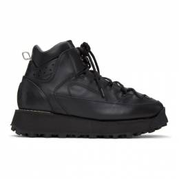 Acne Studios Black Trekking Boots BD0122