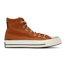 Converse Brown Gore-Tex® Utility Chuck 70 High Sneakers 168858C