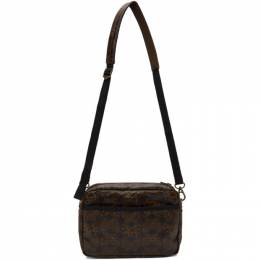 Needles Brown Papillon Messenger Bag HM064