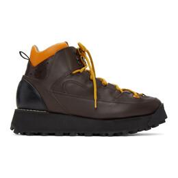 Acne Studios Brown Trekking Boots BD0122