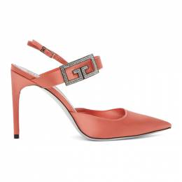 Givenchy Pink Double G Pumps BE401SE0UE