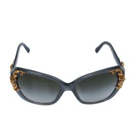 Dolce&Gabbana Grey/ Green Gradient DG4167 Sicilian Baroque Sunglasses 328667