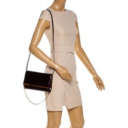 Louis Vuitton Amarante Monogram Vernis Ana Clutch Bag 328091