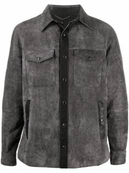 Ajmone декорированная куртка-рубашка Z1MSHM