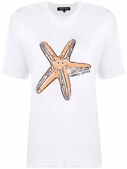 Markus Lupfer футболка Satrfish с пайетками TEE399