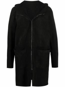 Salvatore Santoro длинная куртка с капюшоном 39512U