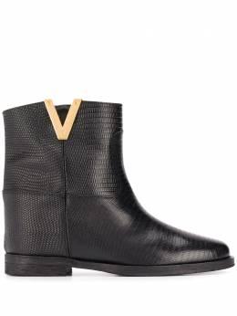 Via Roma 15 ботинки с разрезами 2576TEJUS