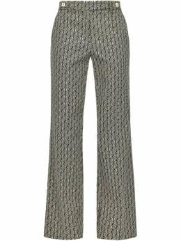 Pinko брюки с геометричным узором 1B14UB8310ZC3