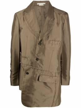Comme Des Garcons Homme Plus пальто асимметричного кроя PFJ059W20