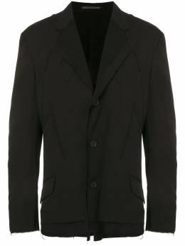 Yohji Yamamoto многослойный пиджак HRJ09802