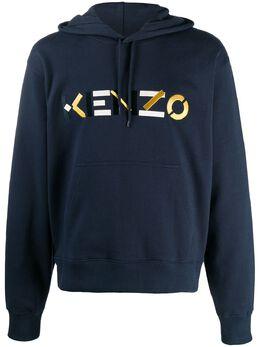 Kenzo худи с вышитым логотипом FA65SW3044MO