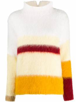 Erika Cavallini colour-block high neck jumper W0PP0WA10
