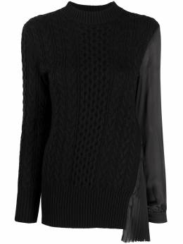 Sacai pleated panel jumper 2005347