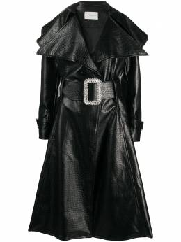 Giuseppe Di Morabito belted flared coat PF20012CO47STC