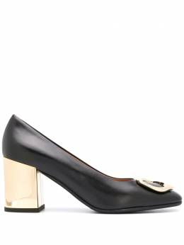 Fratelli Rossetti abstract buckle pumps 6713489401