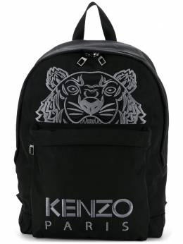 Kenzo logo tiger motif backpack F005SF300F20