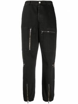 Nine In The Morning high-waisted zip detail trousers 9FW20NS01