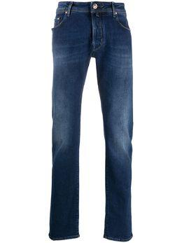 Jacob Cohen прямые джинсы с эффектом потертости J688COMFTA01127W3