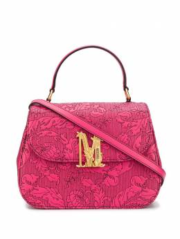 Moschino M floral-print tote bag A74928002
