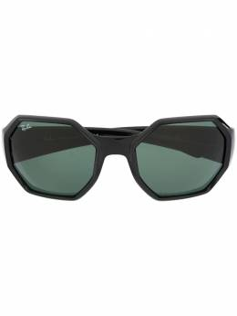 Ray Ban gradient square frame sunglasses RB4337