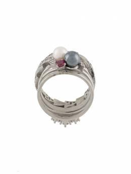 Maison Margiela pearl and gemstone ring SM3UQ0016S12760