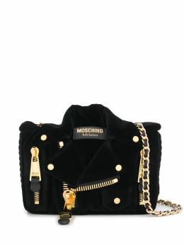 Moschino Biker shoulder bag A75358221