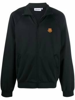 Kenzo куртка на молнии с вышивкой Tiger FA65BL7304IU