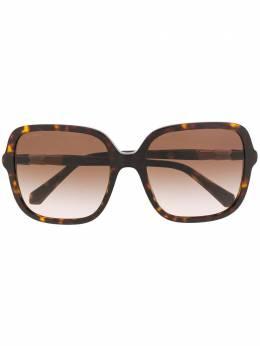 Bvlgari солнцезащитные очки в оправе черепаховой расцветки 8228B
