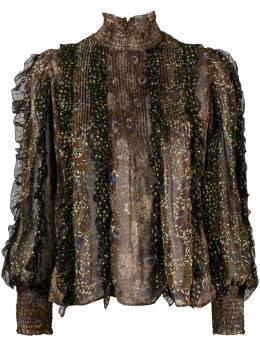 Ulla Johnson блузка Elita с оборками FA200242