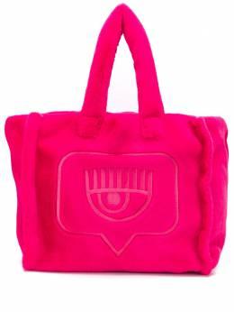Chiara Ferragni сумка-тоут Flirting с вышивкой CFBAG005