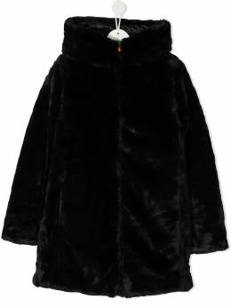 Save The Duck Kids пальто Furyy с капюшоном J4007GFURYY