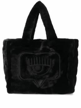 Chiara Ferragni сумка-тоут Flirting из искусственного меха CFBAG005