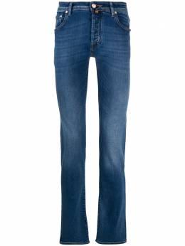Jacob Cohen узкие джинсы с заниженной талией J622COMF08364W35401