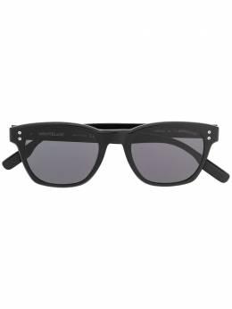 Montblanc солнцезащитные очки с логотипом MB0122S