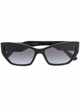 Dolce&Gabbana Eyewear солнцезащитные очки в оправе 'кошачий глаз' DG4375