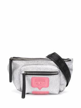 Chiara Ferragni поясная сумка Eyelike с блестками CFBB015