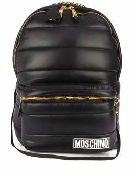 Moschino стеганый рюкзак с капюшоном A76188215