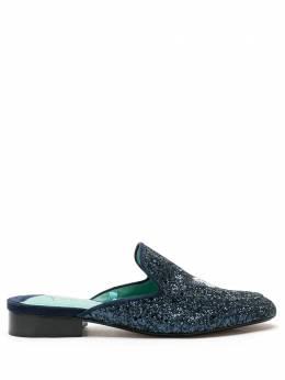 Blue Bird Shoes мюли Butterfly с блестками W2001156