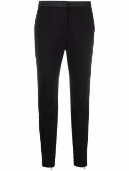 Karl Lagerfeld брюки кроя слим с логотипом 206W1007999