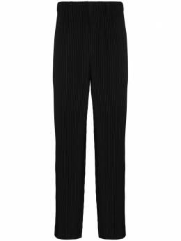 Homme Plisse Issey Miyake плиссированные брюки прямого кроя HP08JF150