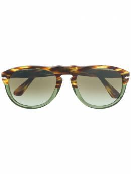 Persol солнцезащитные очки в оправе черепаховой расцветки PO0649