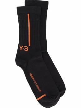 Y-3 mid-calf logo socks GN6006