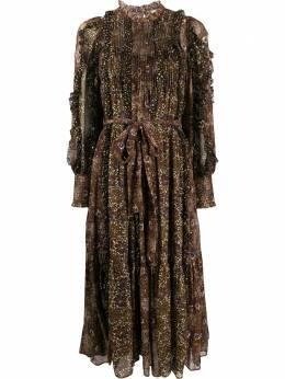 Ulla Johnson платье Damara с оборками FA200114