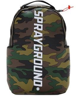 Рюкзак Bodyguard Logo Camo Sprayground 72IXWA050-Q0FNTw2