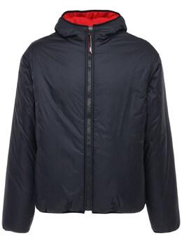 Двусторонняя Куртка Из Нейлона И Джерси MSGM 72IL6T001-OTk1